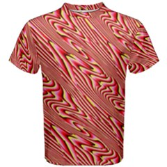 Abstract Neutral Pattern Men s Cotton Tee