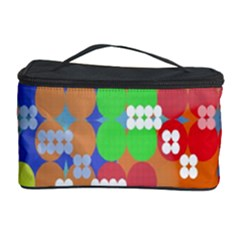 Abstract Polka Dot Pattern Digitally Created Abstract Background Pattern With An Urban Feel Cosmetic Storage Case