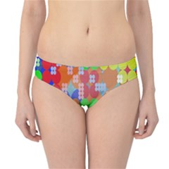 Abstract Polka Dot Pattern Digitally Created Abstract Background Pattern With An Urban Feel Hipster Bikini Bottoms