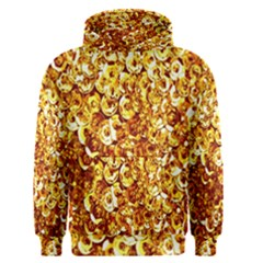 Yellow Abstract Background Men s Pullover Hoodie