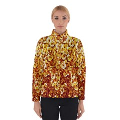 Yellow Abstract Background Winterwear