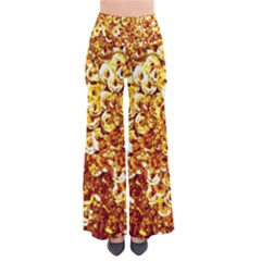 Yellow Abstract Background Pants