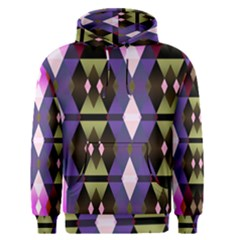 Geometric Abstract Background Art Men s Pullover Hoodie