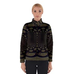 Dark Portal Fractal Esque Background Winterwear