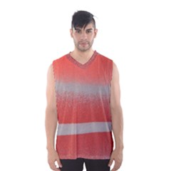 Orange Stripes Colorful Background Textile Cotton Cloth Pattern Stripes Colorful Orange Neo Men s Basketball Tank Top