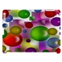Colored Bubbles Squares Background Apple iPad 3/4 Hardshell Case (Compatible with Smart Cover) View1