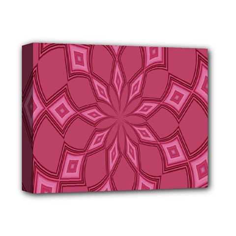 Fusia Abstract Background Element Diamonds Deluxe Canvas 14  x 11