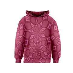 Fusia Abstract Background Element Diamonds Kids  Pullover Hoodie