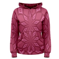 Fusia Abstract Background Element Diamonds Women s Pullover Hoodie