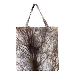 Tree Art Artistic Tree Abstract Background Grocery Tote Bag