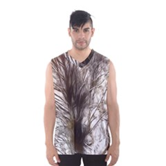 Tree Art Artistic Tree Abstract Background Men s Basketball Tank Top