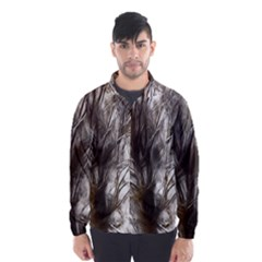 Tree Art Artistic Tree Abstract Background Wind Breaker (Men)
