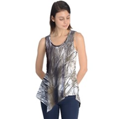 Tree Art Artistic Tree Abstract Background Sleeveless Tunic