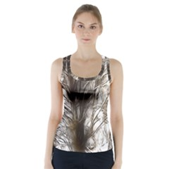 Tree Art Artistic Tree Abstract Background Racer Back Sports Top