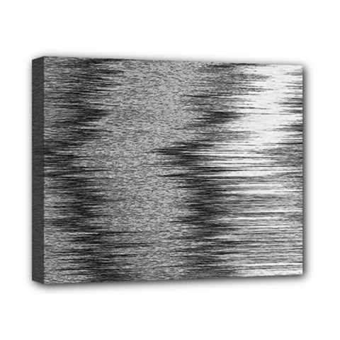 Rectangle Abstract Background Black And White In Rectangle Shape Canvas 10  x 8