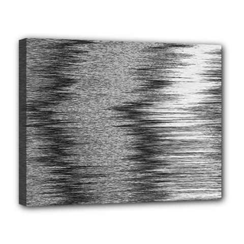 Rectangle Abstract Background Black And White In Rectangle Shape Canvas 14  X 11