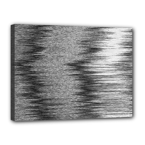 Rectangle Abstract Background Black And White In Rectangle Shape Canvas 16  x 12