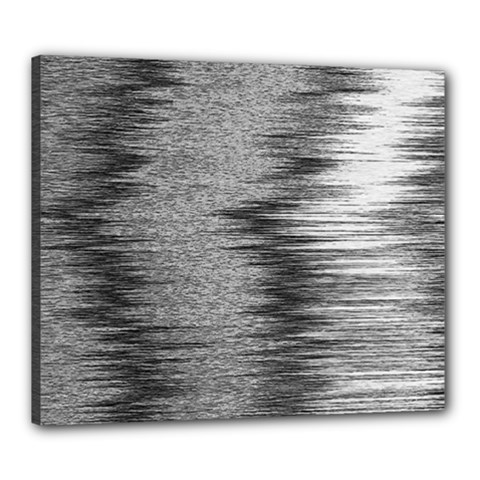 Rectangle Abstract Background Black And White In Rectangle Shape Canvas 24  x 20