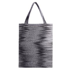 Rectangle Abstract Background Black And White In Rectangle Shape Classic Tote Bag