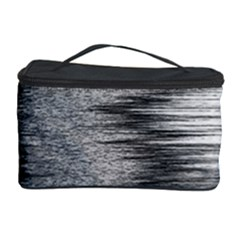 Rectangle Abstract Background Black And White In Rectangle Shape Cosmetic Storage Case