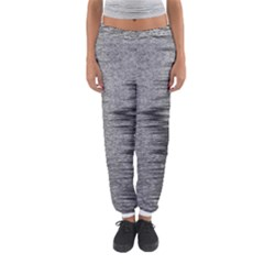 Rectangle Abstract Background Black And White In Rectangle Shape Women s Jogger Sweatpants