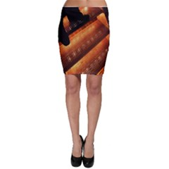 Magic Steps Stair With Light In The Dark Bodycon Skirt