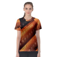 Magic Steps Stair With Light In The Dark Women s Sport Mesh Tee