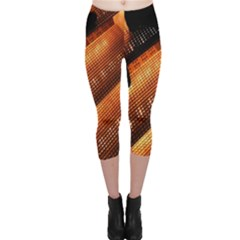 Magic Steps Stair With Light In The Dark Capri Leggings