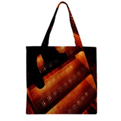 Magic Steps Stair With Light In The Dark Zipper Grocery Tote Bag
