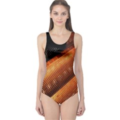 Magic Steps Stair With Light In The Dark One Piece Swimsuit