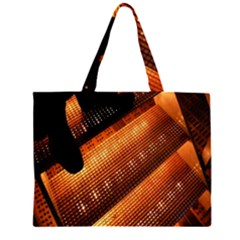 Magic Steps Stair With Light In The Dark Large Tote Bag