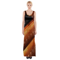 Magic Steps Stair With Light In The Dark Maxi Thigh Split Dress