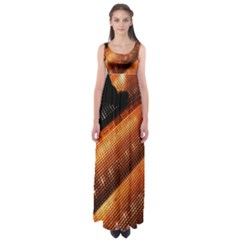 Magic Steps Stair With Light In The Dark Empire Waist Maxi Dress