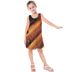 Magic Steps Stair With Light In The Dark Kids  Sleeveless Dress