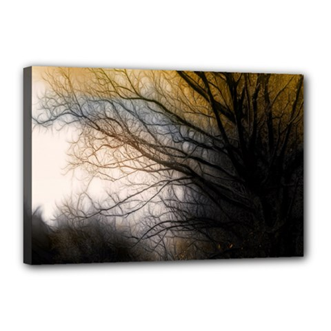 Tree Art Artistic Abstract Background Canvas 18  x 12