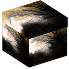 Tree Art Artistic Abstract Background Storage Stool 12