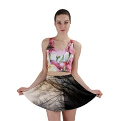 Tree Art Artistic Abstract Background Mini Skirt