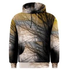 Tree Art Artistic Abstract Background Men s Pullover Hoodie