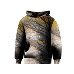 Tree Art Artistic Abstract Background Kids  Pullover Hoodie