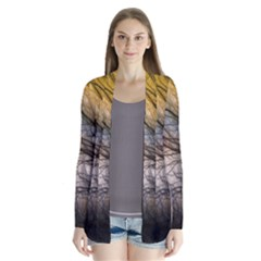Tree Art Artistic Abstract Background Cardigans