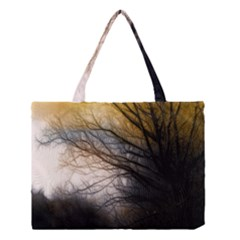 Tree Art Artistic Abstract Background Medium Tote Bag