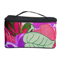 Abstract Design With Hummingbirds Cosmetic Storage Case