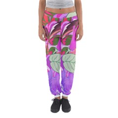 Abstract Design With Hummingbirds Women s Jogger Sweatpants