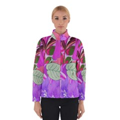 Abstract Design With Hummingbirds Winterwear