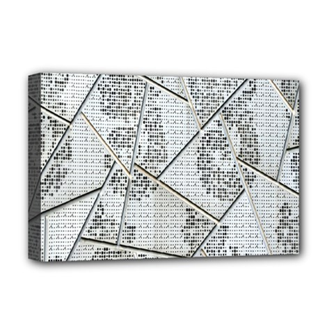 The Abstract Design On The Xuzhou Art Museum Deluxe Canvas 18  X 12