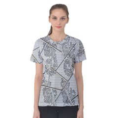 The Abstract Design On The Xuzhou Art Museum Women s Cotton Tee