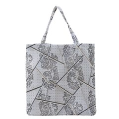 The Abstract Design On The Xuzhou Art Museum Grocery Tote Bag