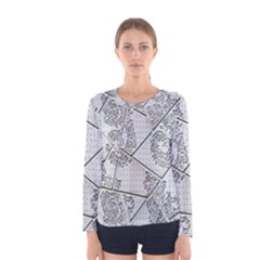 The Abstract Design On The Xuzhou Art Museum Women s Long Sleeve Tee