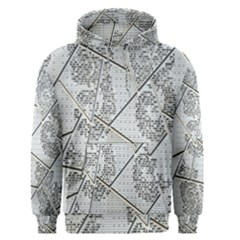 The Abstract Design On The Xuzhou Art Museum Men s Pullover Hoodie