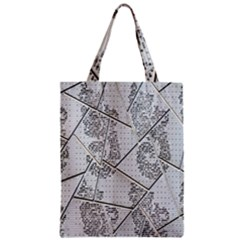 The Abstract Design On The Xuzhou Art Museum Zipper Classic Tote Bag